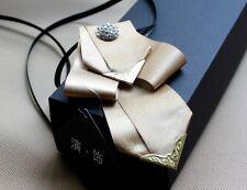 Wedding Boutonniere Mens Groom Pre-Tied Bowtie Bow Tie Necktie Accessories