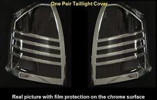 For 05 06 07 Chrysler 300/300C Chrome Taillight Tail Light Trim Bezel Lamp Cover