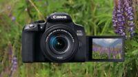 Brand New: Canon 850D / Rebel T8i DSLR Camera +18-55mm Lens + 5 year warranty