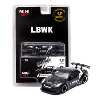 MINI GT 1:64 Scale Nissan GT-R R35 LB Works LBWK Diecast Car Model Collections