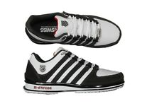 Mens Casual Classic Rinzler Leather Retro K Swiss Trainers Size 7 to 12
