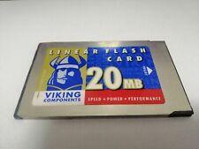 VIKING 20MB  LINEAR FLASH CARD  PC CARD
