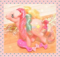 ❤️My Little Pony MLP G1 Vtg Rainbow Curl Ponies Stripes Rainbow Storyteller❤️