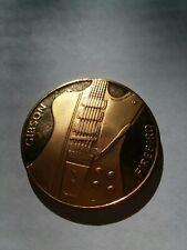 Hard Rock Hotel Las Vegas Gibson Firebird $20 Rock Guitar Collectables Coin