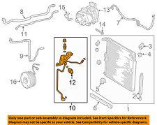 TOYOTA OEM 10-16 4Runner A/C Condenser, Compressor Lines-A/C Ac Line 8871035750