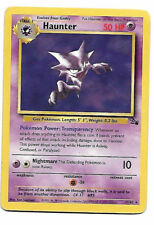 NEAR MINT! Haunter 21/62 Fossil Set Non Holo Rare Pokemon Card - WOTC