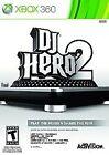 DJ Hero 2 GAME (Xbox 360) **FREE SHIPPING!!