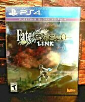 Fate/EXTELLA Link Fleeting Glory Limited Edition PlayStation 4 Brand NEW Sealed