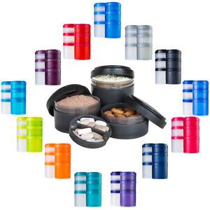 Blender Bottle ProStak Expansion Pak Storage Container Jars
