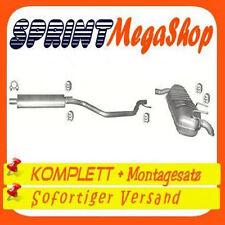 Opel Signum 1.8 90 / 103 KW 2003-2008  Auspuff Abgasanlage Auspufanlage 0250