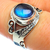 Labradorite 925 Sterling Silver Ring Size 8 Ana Co Jewelry R48837F