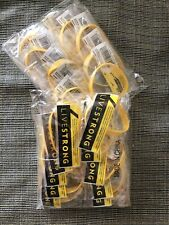 20 Nike LIVESTRONG LIVE STRONG BRACELET Wristband Youth Size 100% Authentic.