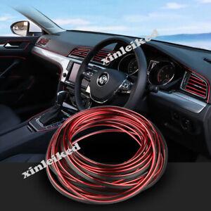 For Mazda Car Interior Decor Red Point Edge Gap Door Panel Accessories Cover 5M