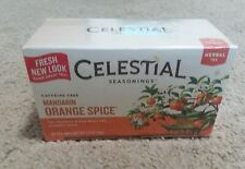Celestial Seasonings Mandarin Orange Spice Tea 1 Box