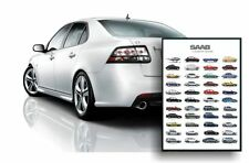 SAAB POSTER XL - BEAUTIFUL GIFT FOR ANY SAAB FANS