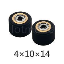 2pcs 4mm x 10mm x 14mm Pinch Roller for Roland Vinyl Cutting Plotter Cutter