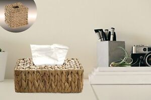 New Vintiquewise Water Hyacinth Wicker Tissue Box Cover