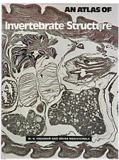 AN ATLAS OF INVERTEBRATE STRUCTURE - FREEMAN & BRACEGIRDLE biology   di