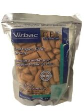 Virbac C.E.T. Oral Hygiene Poultry Flavor Cat Chews, Poultry, 96 count