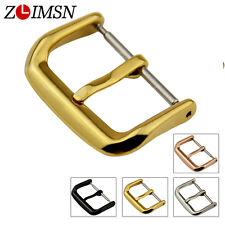 Watch Band Strap Buckle Polished Stainless Steel Parts 10 12 14 16 18 20 22 24mm
