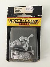 WARHAMMER 40,000 SPACE MARINES LIBRARIAN IN TERMINATOR ARMOUR METAL 2ND EDITION