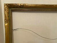 Arts & Crafts Style Gilded Wooden Picture/ Painting Frame