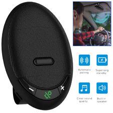 Bluetooth Handsfree Car Speaker Kit Multifunction Wireless in-Car Sun Visor Clip