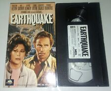 Earthquake Vhs Original Release Ava Gardner Charlton Heston Tape plays Perfect