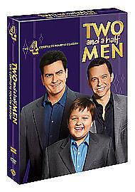 Two And A Half Men - Series 4 (DVD, 2008, 4-Disc Set, Box Set)