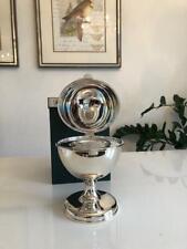 Caviar Bowl Made of Real Silver-Handmade -