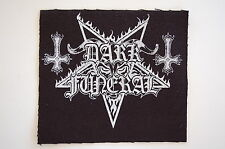 "Dark Funeral Cloth Patch Sew On Badge Black Metal Marduk Approx 4""X4.5"" (CP228)"