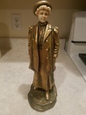 Antique Bernard Bloch Victorian Lady Figurine