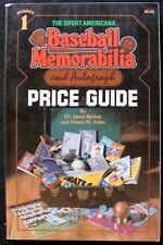 1982 SPORTS AMERICANA BASEBALL MEMORABILIA & AUTOGRAPH PRICE GUIDE #1