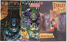 Batman - 6 Prestige issues - Harley Quinn  Joker  avg. NM 9.4  DC  1999  No Resv