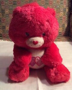 2006 Care Bears Fluffy & Floppy Always There Bear Stuffed Animal Plush