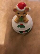 Bear -Ceramic Votive Candle Holder
