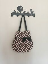 BN Grey And Pink Spotted Shoulder Bag.