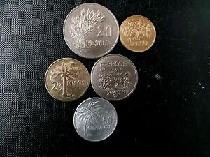 monedas de Guinea Bissau & coins of Guinea Bissau moedas Bissau Guine mais circu