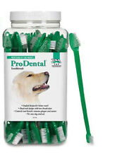 ProDental - Dog Cat Puppy Dental Toothbrush - Dual End - 2, 5, 10, 50 count