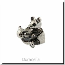 Authentic Trollbeads Sterling Silver 11515 Panda :0 RETIRED