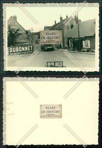 Orig. Foto Frankreich Panzer Tank Straßen Ansicht Werbung Reklame