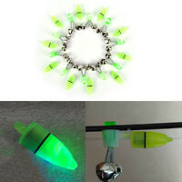 Outdoor Night Fishing Accessory Rod Tip LED Light Fish Bite Double Alarm Bell ^