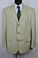 HUGO BOSS Men's Blazer WOOL+COTTON+LINEN UK 44 Sand Colour Jacket 54 EU Gr Sakko