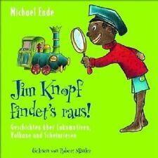 MICHAEL ENDE - JIM KNOPF FINDET'S RAUS  CD NEU