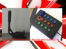 Pack BUTTON BOX +Handbrake WRC   logitech g27 thrustmaster playseat fanatec pc