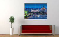 "BUDAPEST EVENING NEW GIANT LARGE ART PRINT POSTER PICTURE WALL 33.1""x23.4"""