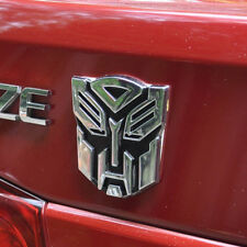 Large 3D Autobot Decepticon Transformers Emblem Badge Graphics Decal Car Sticker