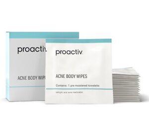 New Fresh Box Proactiv Full Sized Acne Body Wipes 15 Packets 40$ Expires 07/21