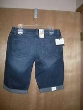 NWT Calvin Klein Jeans Bermuda Shorts Women's 29/8 rolled cuff CK Jeans Short