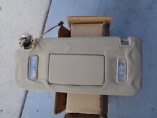 2009 CHEVY TRAVERSE FRONT WINDSHIELD SUN VISOR SHADE LEFT DRIVER SIDE - TAN OEM